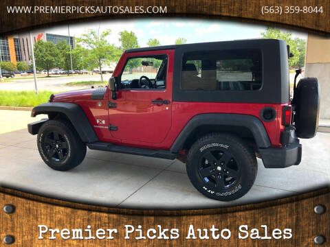2008 Jeep Wrangler for sale at Premier Picks Auto Sales in Bettendorf IA