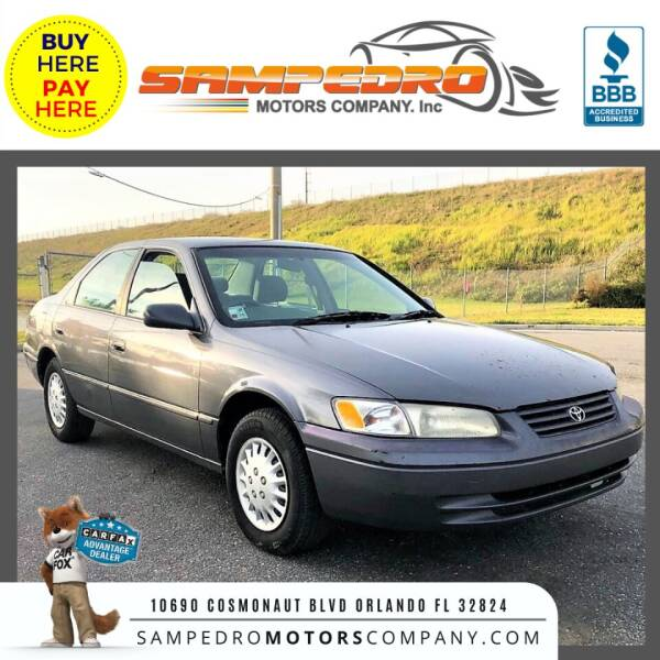 1997 Toyota Camry for sale at SAMPEDRO MOTORS COMPANY INC in Orlando FL