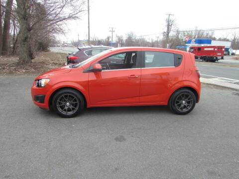 2012 Chevrolet Sonic for sale at Nutmeg Auto Wholesalers Inc in East Hartford CT