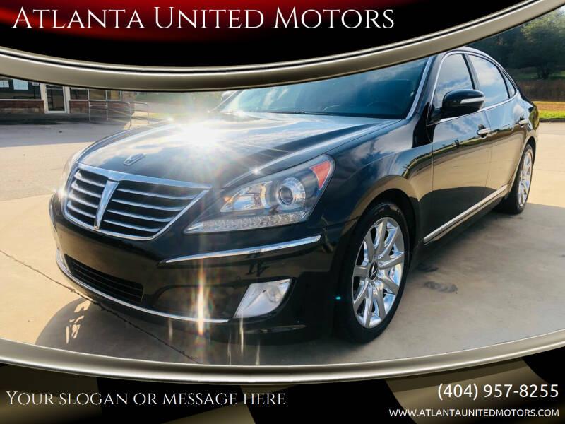2011 Hyundai Equus for sale at Atlanta United Motors in Jefferson GA