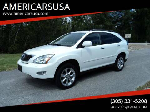 2008 Lexus RX 350 for sale at Americarsusa in Hollywood FL