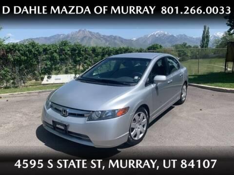 2006 Honda Civic for sale at D DAHLE MAZDA OF MURRAY in Salt Lake City UT