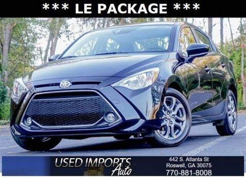 2019 Toyota Yaris for sale at Used Imports Auto in Roswell GA