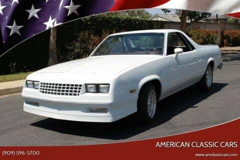 1983 Chevrolet El Camino for sale at American Classic Cars in La Verne CA