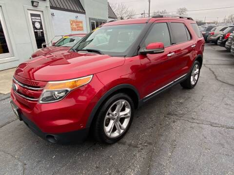 2011 Ford Explorer for sale at Huggins Auto Sales in Ottawa OH