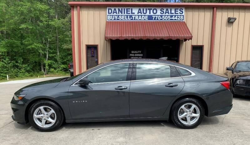 2017 Chevrolet Malibu for sale at Daniel Used Auto Sales in Dallas GA