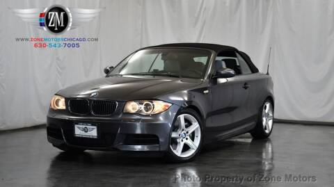 2008 BMW 1 Series for sale at ZONE MOTORS in Addison IL