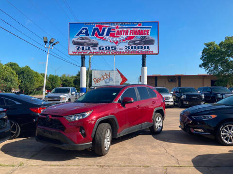 2020 Toyota RAV4 for sale at ANF AUTO FINANCE in Houston TX