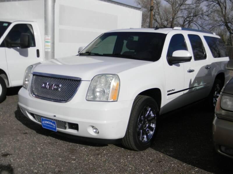 2010 GMC Yukon XL for sale at Cimino Auto Sales in Fountain CO