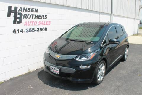 2017 Chevrolet Bolt EV for sale at HANSEN BROTHERS AUTO SALES in Milwaukee WI