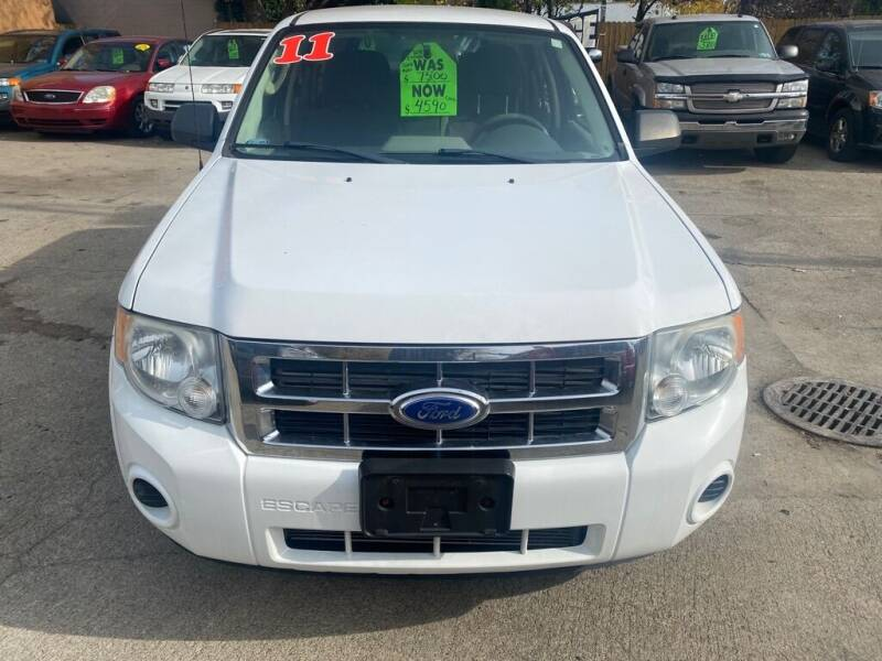 2011 Ford Escape for sale at Nation Auto Wholesale in Cleveland OH