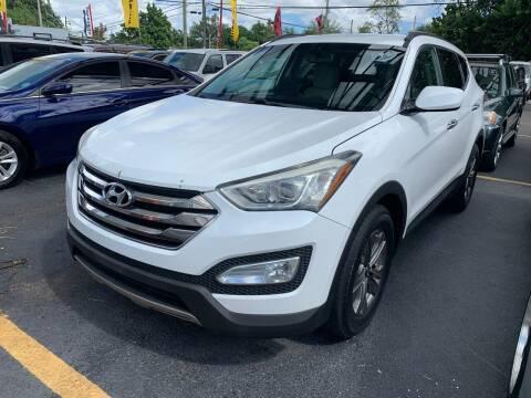 2013 Hyundai Santa Fe Sport for sale at America Auto Wholesale Inc in Miami FL