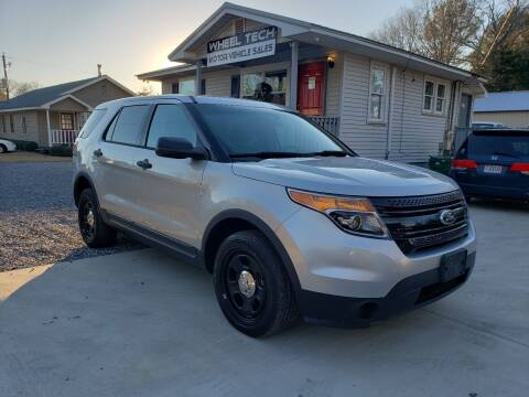 2013 Ford Explorer for sale at Wheel Tech Motor Vehicle Sales in Maylene AL