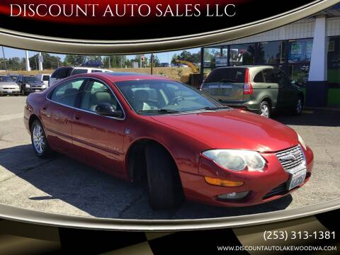 2001 Chrysler 300M for sale at DISCOUNT AUTO SALES LLC in Spanaway WA
