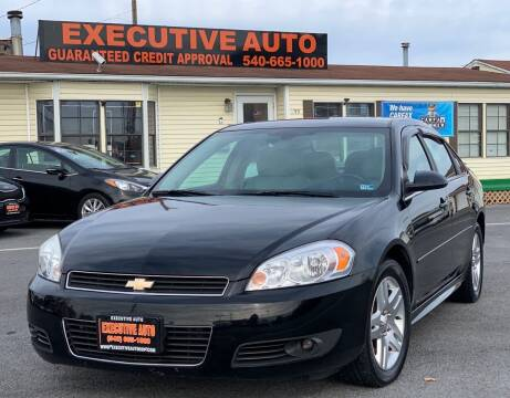2011 Chevrolet Impala for sale at Executive Auto in Winchester VA