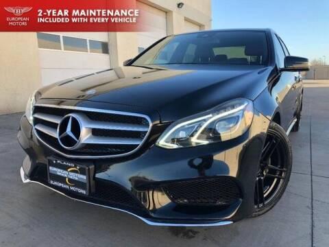 2015 Mercedes-Benz E-Class for sale at European Motors Inc in Plano TX