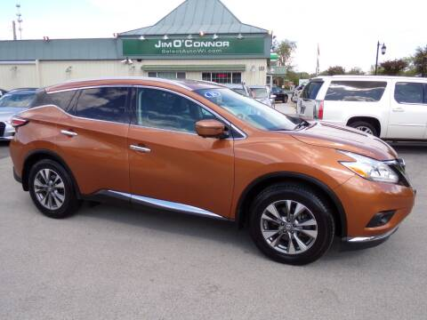 2016 Nissan Murano for sale at Jim O'Connor Select Auto in Oconomowoc WI