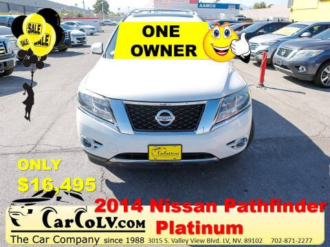 2014 Nissan Pathfinder for sale at The Car Company in Las Vegas NV