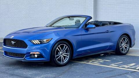 2016 Ford Mustang for sale at Carland Auto Sales INC. in Portsmouth VA
