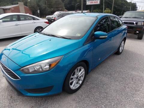 2015 Ford Focus for sale at Deer Park Auto Sales Corp in Newport News VA