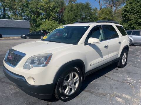 2009 GMC Acadia for sale at Port City Cars in Muskegon MI
