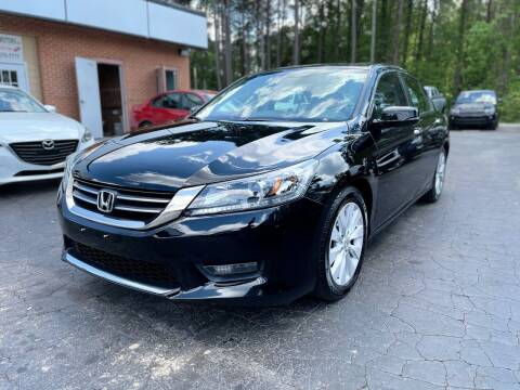 2015 Honda Accord for sale at Magic Motors Inc. in Snellville GA