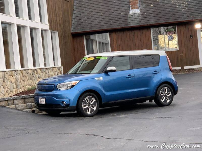 2017 Kia Soul EV for sale at Cupples Car Company in Belmont NH
