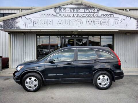 2011 Honda CR-V for sale at Don Auto World in Houston TX