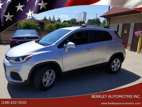2019 Chevrolet Trax for sale at Berkley Automotive Inc. in Berkley MI