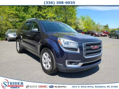 2015 GMC Acadia for sale at STRIDER BUICK GMC SUBARU in Asheboro NC