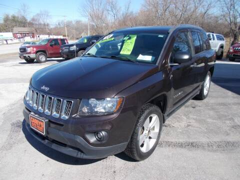 2014 Jeep Compass for sale at Careys Auto Sales in Rutland VT