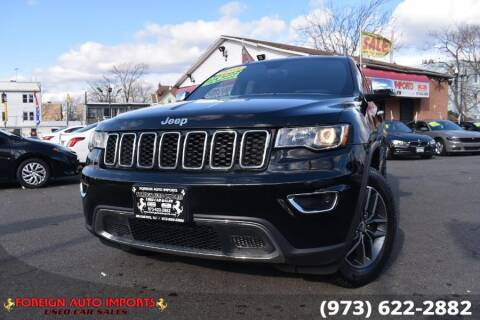 2018 Jeep Grand Cherokee for sale at www.onlycarsnj.net in Irvington NJ