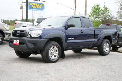 2012 Toyota Tacoma for sale at Dubes Auto Sales in Lewiston ME