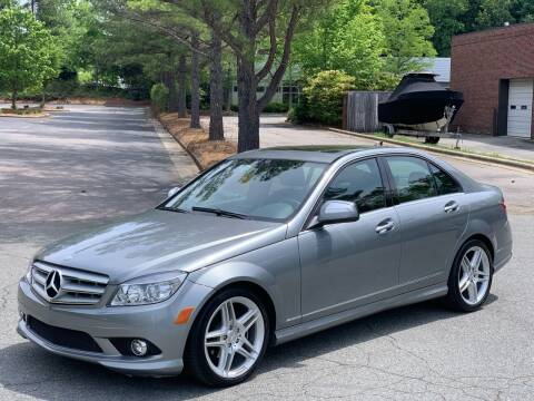 2008 Mercedes-Benz C-Class for sale at Triangle Motors Inc in Raleigh NC