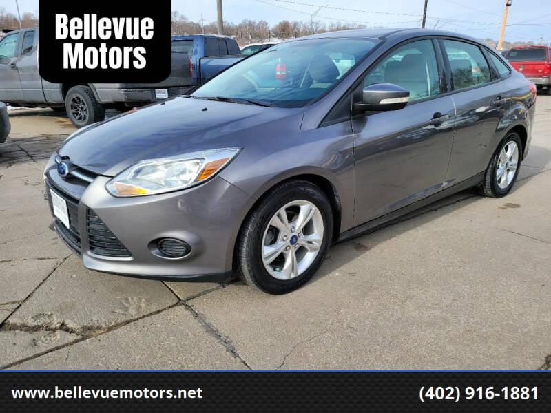 2013 Ford Focus for sale at Bellevue Motors in Bellevue NE