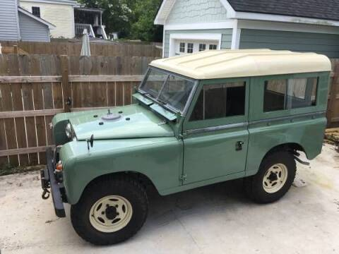 1973 Land Rover Series III for sale at Classic Car Deals in Cadillac MI