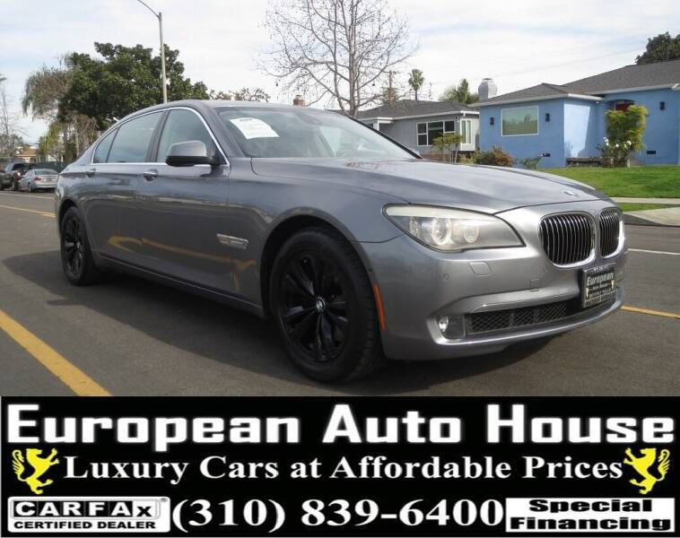 2012 BMW 7 Series for sale at European Auto House in Los Angeles CA