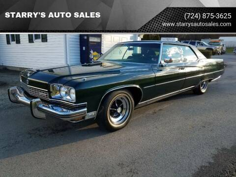 1973 Buick Electra for sale at STARRY'S AUTO SALES in New Alexandria PA