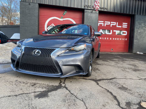 2014 Lexus IS 250 for sale at Apple Auto Sales Inc in Camillus NY
