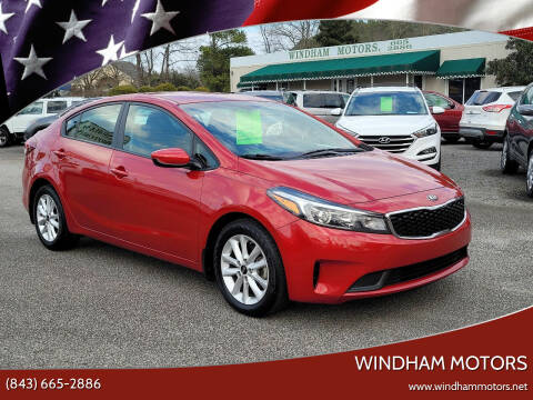 2017 Kia Forte for sale at Windham Motors in Florence SC
