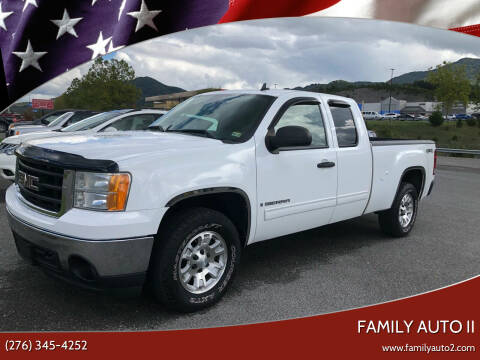 2008 GMC Sierra 1500 for sale at FAMILY AUTO II in Pounding Mill VA