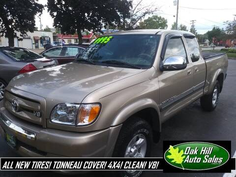 2005 Toyota Tundra for sale at Oak Hill Auto Sales of Wooster, LLC in Wooster OH