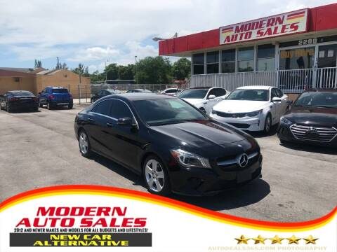 2016 Mercedes-Benz CLA for sale at Modern Auto Sales in Hollywood FL