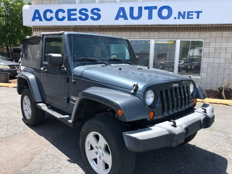 2007 Jeep Wrangler for sale at Access Auto in Salt Lake City UT
