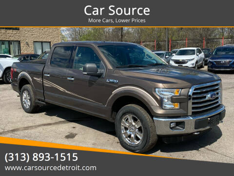 2015 Ford F-150 for sale at Car Source in Detroit MI