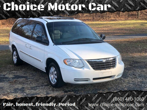 2005 Chrysler Town and Country for sale at Choice Motor Car in Plainville CT