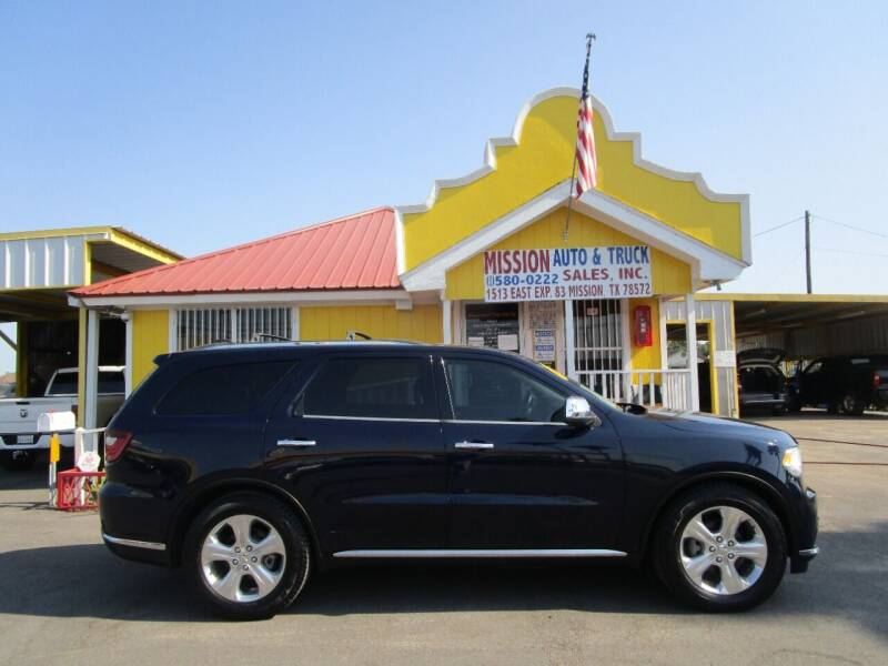 2014 Dodge Durango for sale at Mission Auto & Truck Sales, Inc. in Mission TX