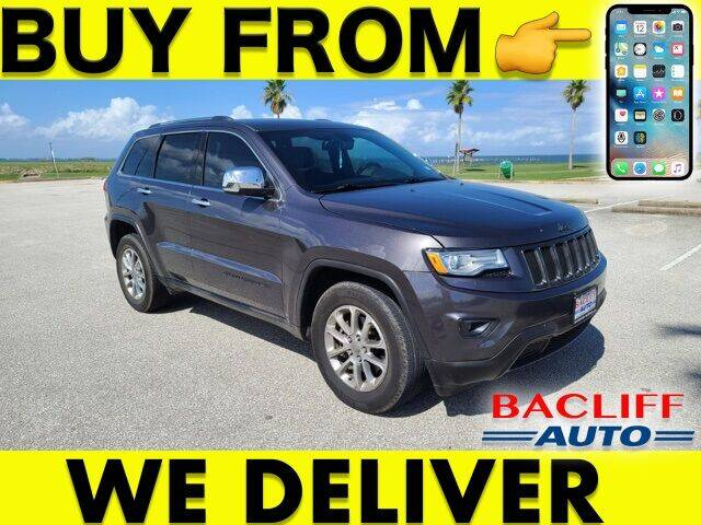 2015 Jeep Grand Cherokee for sale at Bacliff Auto in Bacliff TX