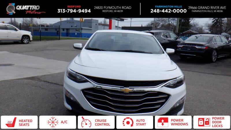 2019 Chevrolet Malibu for sale at Quattro Motors 2 - 1 in Redford MI