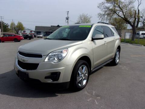 2013 Chevrolet Equinox for sale at Ideal Auto Sales, Inc. in Waukesha WI